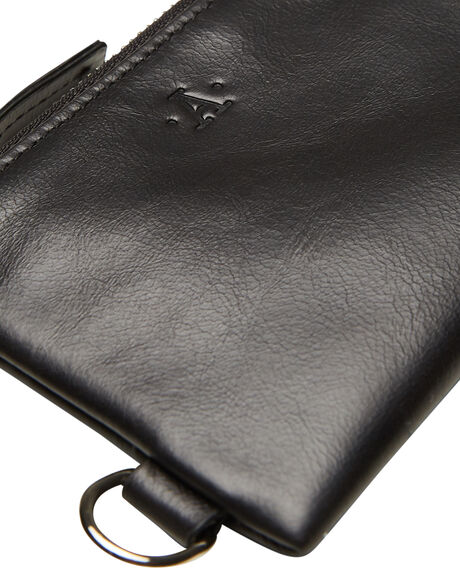 BLACK MENS ACCESSORIES ATLAS LIFESTYLE CO WALLETS - ATL-WO2BLK