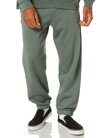 DIRTY GREEN MENS CLOTHING STUSSY PANTS - ST002609DGR