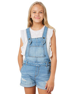 SALT BLUE KIDS GIRLS RUSTY DRESSES + PLAYSUITS - MCG0001SLTBL