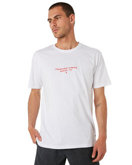 WHITE MENS CLOTHING TOWN AND COUNTRY TEES - TTE416BWHT