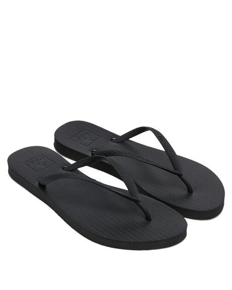 BLACK WOMENS FOOTWEAR REEF THONGS - A3610BLK