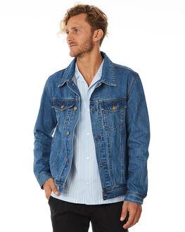 DENIM MENS CLOTHING SWELL JACKETS - S5184383DENIM