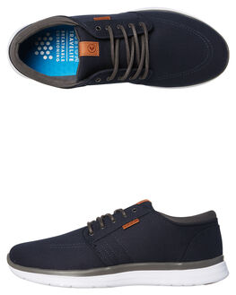 NAVY MICRO OUTLET MENS KUSTOM SNEAKERS - 4976102CNAVY
