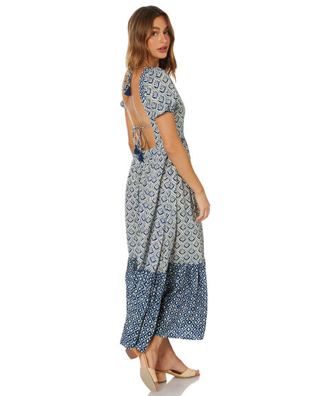 BIJOU BLUE WOMENS CLOTHING TIGERLILY DRESSES - T615409U00BBLU