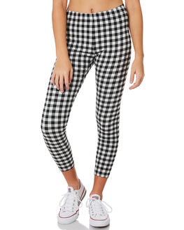 BLACK WHITE KIDS GIRLS SWELL PANTS - S6201192BKWHT