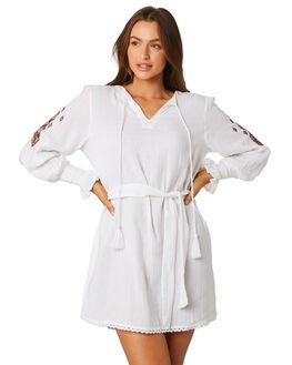 WHITE EMBER OUTLET WOMENS SAINT HELENA DRESSES - SHSP19309AWHITE