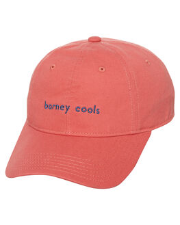 VINTAGE RED MENS ACCESSORIES BARNEY COOLS HEADWEAR - 901-CR1RED