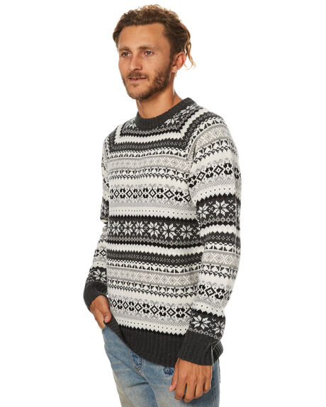 CHARCOAL MENS CLOTHING SWELL KNITS + CARDIGANS - S5173148CHAR