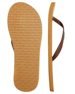 BROWN WOMENS FOOTWEAR RIP CURL THONGS - TGTC290099