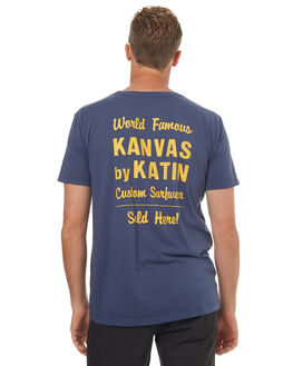 NAVY MENS CLOTHING KATIN TEES - TSSSWOR17NVY
