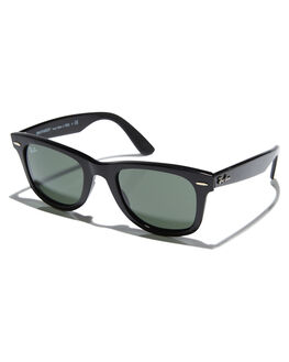 BLACK UNISEX ADULTS RAY-BAN SUNGLASSES - 0RB4340BLK