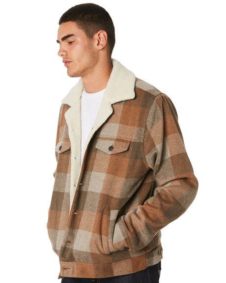 BROWN MENS CLOTHING INSIGHT JACKETS - 5000003603BRWN