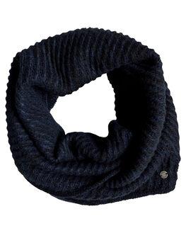 DRESS BLUES WOMENS ACCESSORIES ROXY SCARVES + GLOVES - ERJAA03568-BTK0