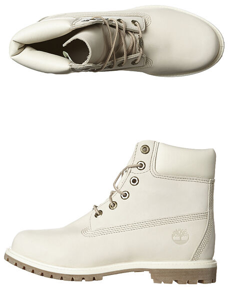 WINTER WHITE WOMENS FOOTWEAR TIMBERLAND BOOTS - 23623148