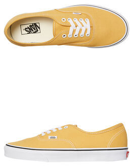 OCHRE WHITE MENS FOOTWEAR VANS SKATE SHOES - SSVNA38EMQA0YELM