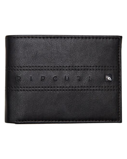 BLACK MENS ACCESSORIES RIP CURL WALLETS - BWUHC10090