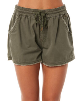 OLIVE WOMENS CLOTHING O'NEILL SHORTS - 40221016890