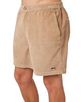 TAN MENS CLOTHING STUSSY SHORTS - ST083607TAN