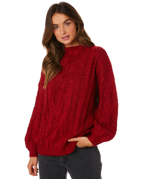 PEPPER OUTLET WOMENS RUSTY KNITS + CARDIGANS - CKL0358PEP