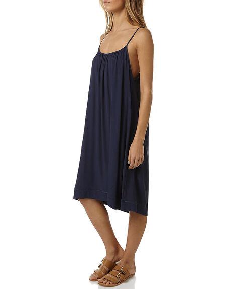 NAVY BLUE WOMENS CLOTHING RUSTY DRESSES - DRL0822NVB