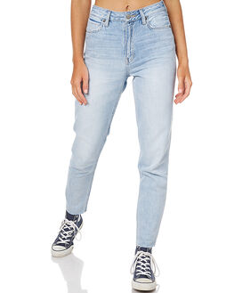 LIGHT AIR BLUE WOMENS CLOTHING LEE JEANS - L-656202-CE8LAB