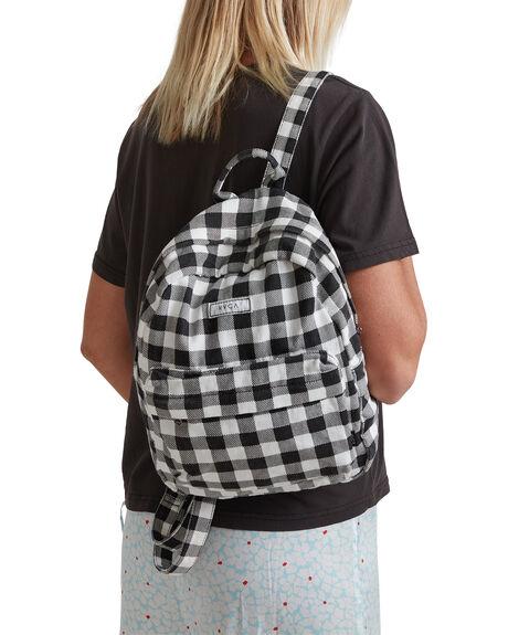 BLACK WOMENS ACCESSORIES RVCA BAGS + BACKPACKS - R215454-BLK