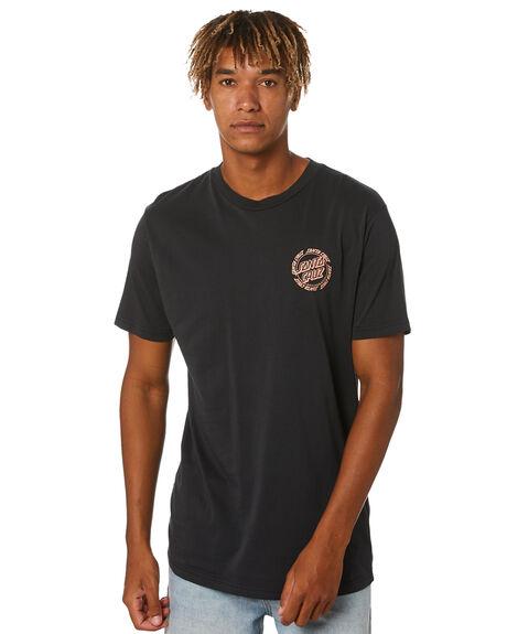 PIGMENT BLACK MENS CLOTHING SANTA CRUZ TEES - SC-MTA0826PBK