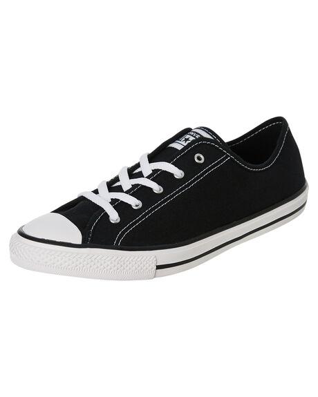 BLACK WOMENS FOOTWEAR CONVERSE SNEAKERS - 564982BLK