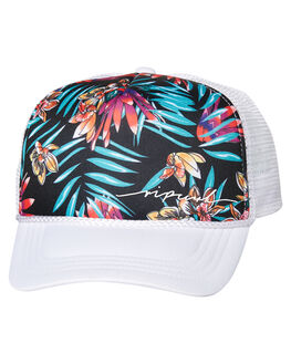 WHITE KIDS GIRLS RIP CURL HEADWEAR - JCABE11000