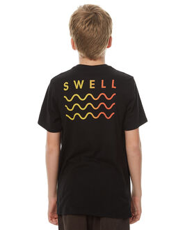 BLACK KIDS BOYS SWELL TOPS - S3174006BLACK