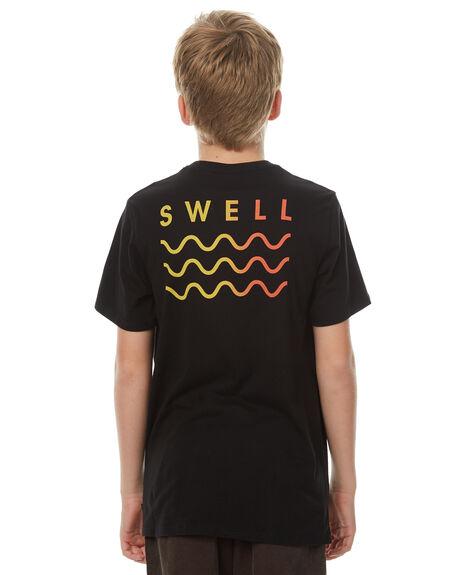 BLACK KIDS BOYS SWELL TOPS - S3174006BLACK
