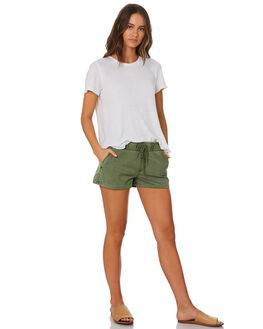 KHAKI WASH WOMENS CLOTHING SWELL SHORTS - S8173231KHWSH