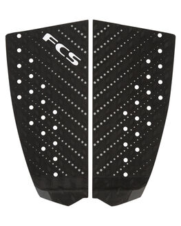 BLACK CHARCOAL BOARDSPORTS SURF FCS TAILPADS - 26821BKCH1