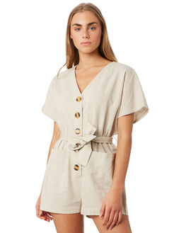 NATURAL WOMENS CLOTHING ELWOOD PLAYSUITS + OVERALLS - W93723-402