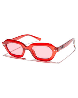 RED RED WOMENS ACCESSORIES QUAY EYEWEAR SUNGLASSES - QW-000392RDRD