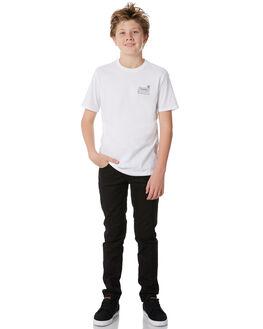 WHITE KIDS BOYS SWELL TEES - S3184008WHITE
