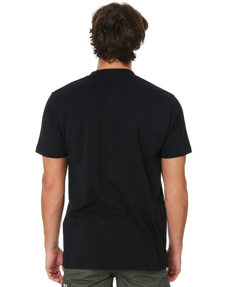 BLACK MENS CLOTHING INDEPENDENT TEES - IN-MTC0358BLK