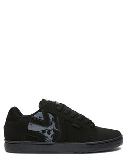 BLACK BLACK MENS FOOTWEAR ETNIES SNEAKERS - 4107000522004