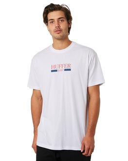 WHITE MENS CLOTHING HUFFER TEES - MTE91S23.734WHT