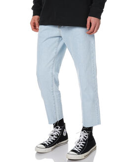 SERIOUS LIGHT RETRO MENS CLOTHING DR DENIM JEANS - 1630114-H62