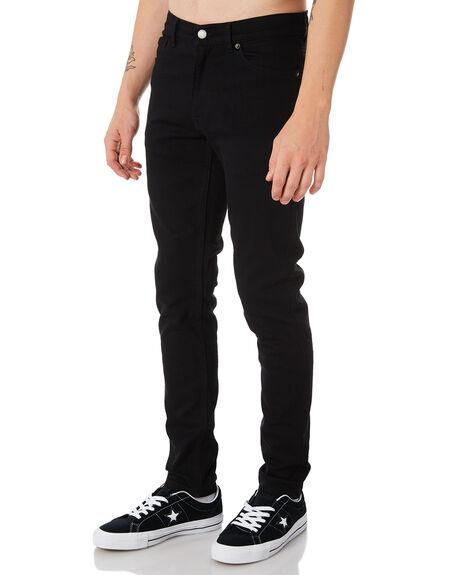 BLACK MENS CLOTHING DR DENIM JEANS - 1330125-101