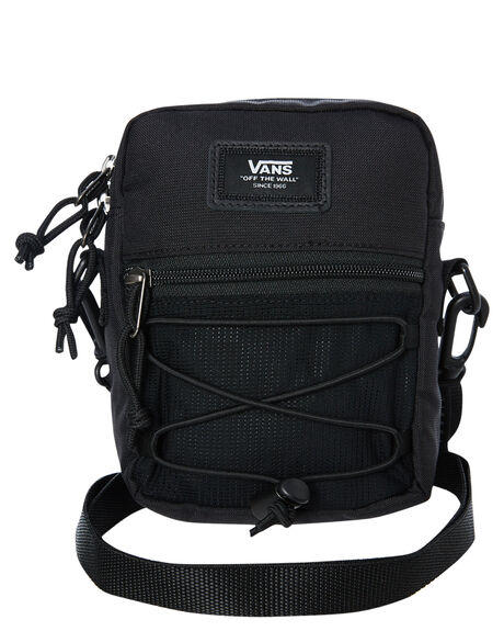 BLACK MENS ACCESSORIES VANS BAGS + BACKPACKS - VNA3I5SBLKBLK