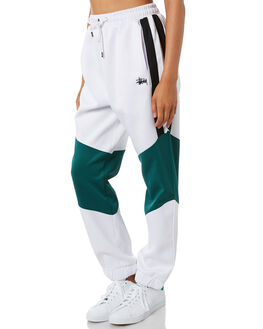 WHITE WOMENS CLOTHING STUSSY PANTS - ST195611WHT
