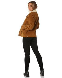 CAMEL WOMENS CLOTHING RUSTY JACKETS - JKL0378CAM