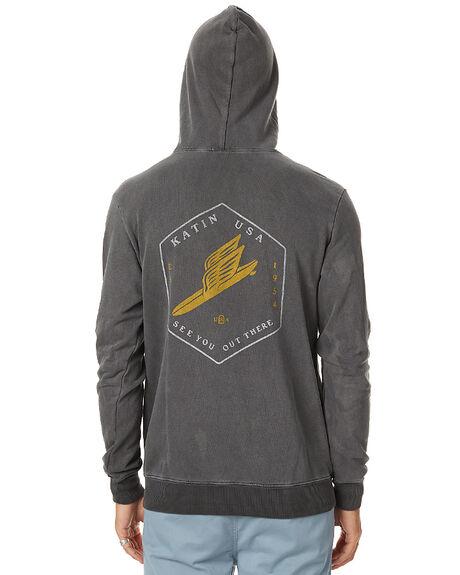 BLACK MENS CLOTHING KATIN JUMPERS - FLMESH16BLK