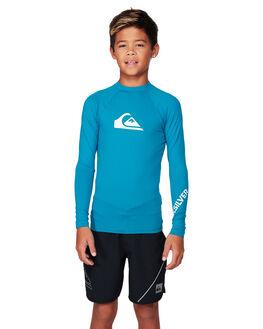 CRYSTAL TEAL BOARDSPORTS SURF QUIKSILVER BOYS - UQBWR03057-BRN0