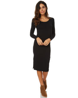 BLACK WOMENS CLOTHING SWELL DRESSES - S8173441BLK