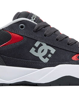 GREY/GREY/RED MENS FOOTWEAR DC SHOES SNEAKERS - ADYS100509-XSSR