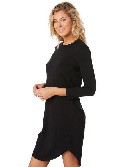 BLACK WOMENS CLOTHING SWELL DRESSES - S8189443BLACK