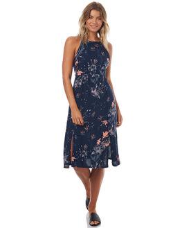 BLUE LEE WOMENS CLOTHING ROXY DRESSES - ERJWD03163BLUE